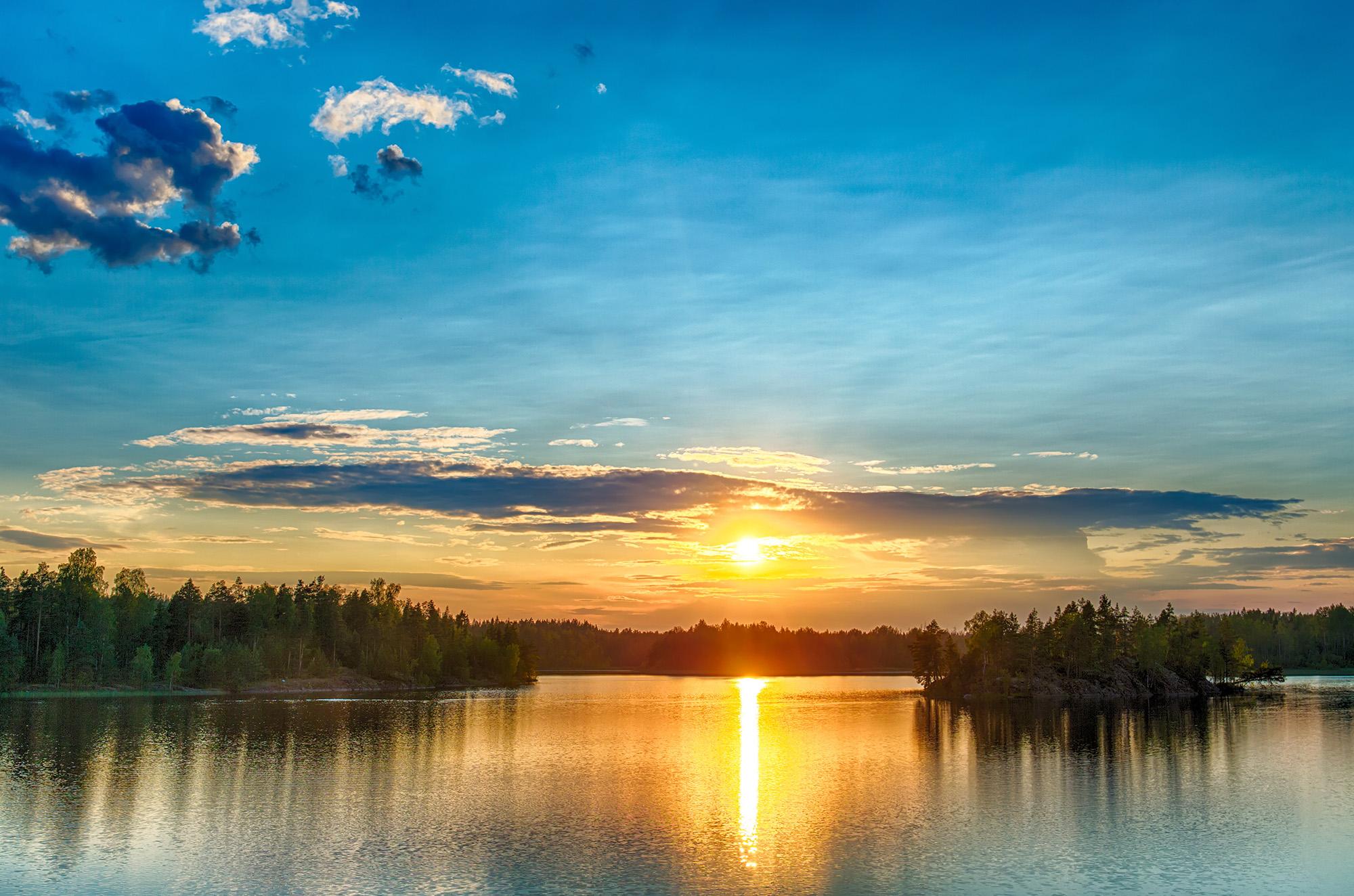 Bright Sunset | HD Free Foto