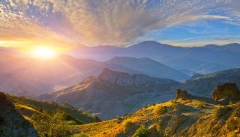 Sunrise Over Sea | HD Free Foto
